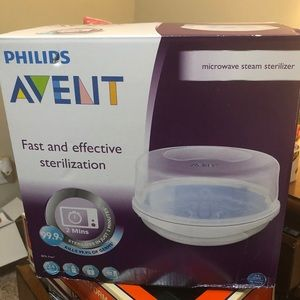 Philips avent microwave bottle sanitizer new